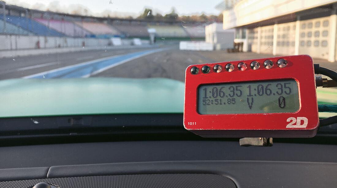 Mercedes-AMG GT R, Messdaten