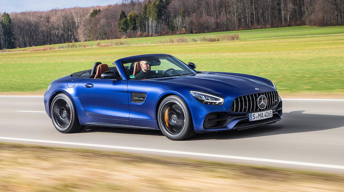 Mercedes-AMG GT Roadster - Serie - Cabrios bis 150000 Euro - sport auto Award 2019