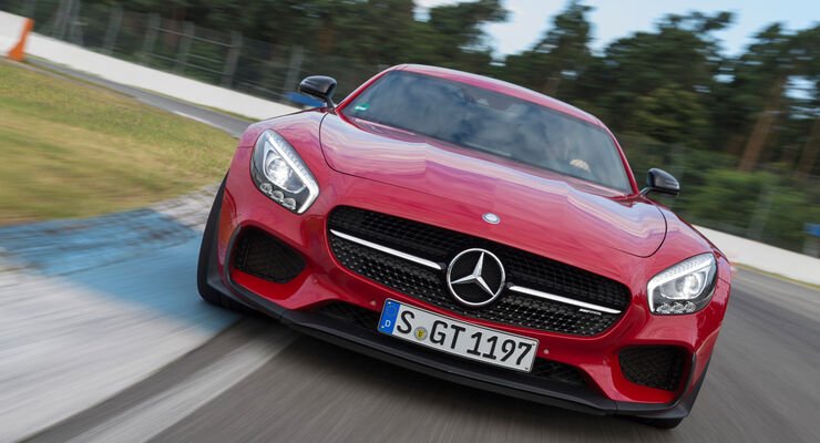 Mercedes-AMG GT S, Frontansicht