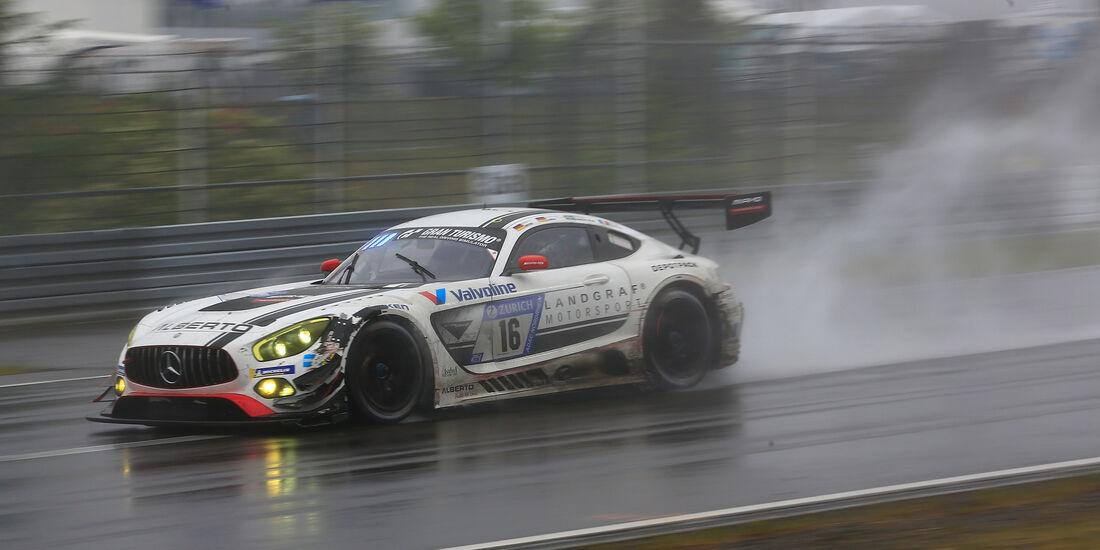 Mercedes-AMG GT3 - Startnummer #16 - 24h-Rennen Nürburgring 2018 - Nordschleife - 13.5.2018