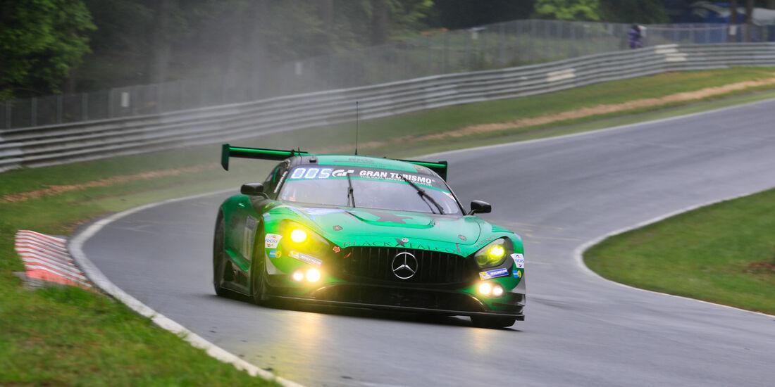 Mercedes-AMG GT3 - Startnummer #6 - 24h-Rennen Nürburgring 2018 - Nordschleife - 13.5.2018
