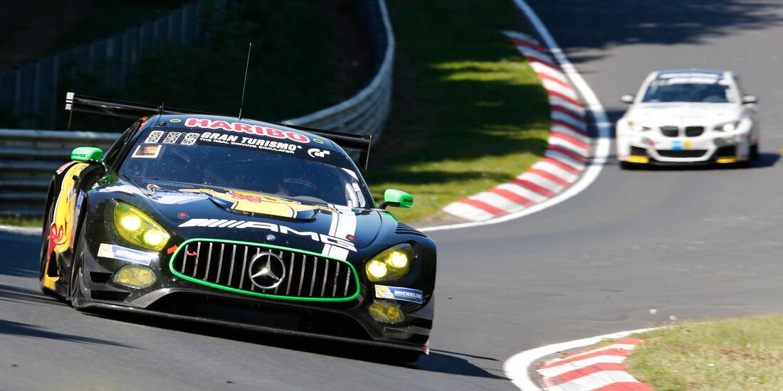 Mercedes AMG GT3 - Startnummer #8 - 2. Qualifying - 24h-Rennen Nürburgring 2017 - Nordschleife