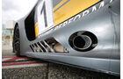 Mercedes-AMG GT3, Tracktest, Endrohre