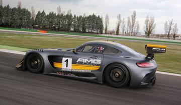 Mercedes-AMG GT3, Tracktest, Seitenansicht