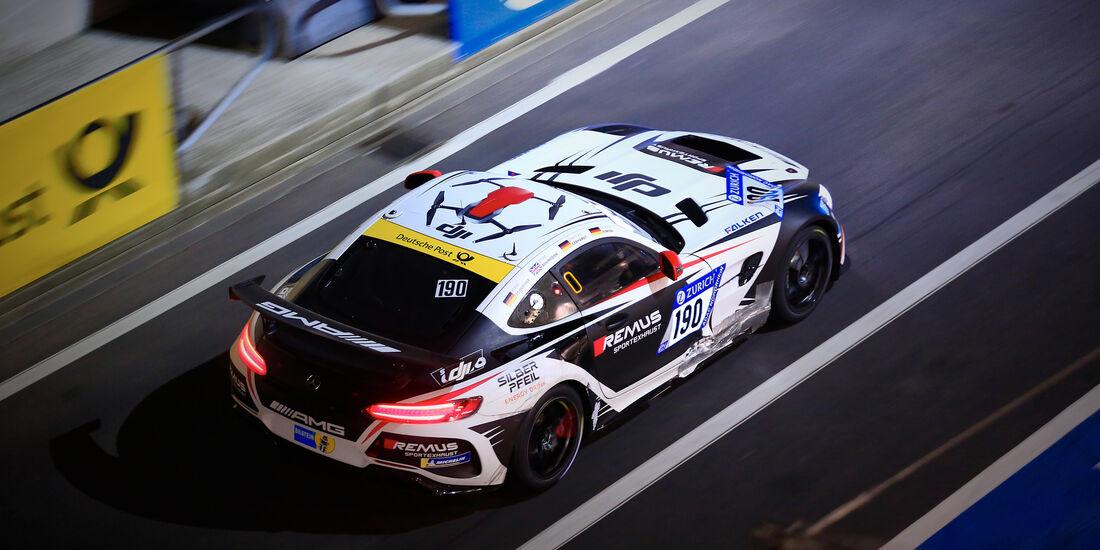 Mercedes AMG GT4 - Startnummer #190 - 24h-Rennen Nürburgring 2018 - Nordschleife - 13.5.2018