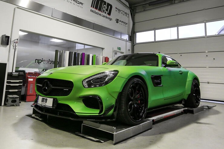 Mercedes AMG GTS Prior-Design PD800GT Widebody  M&D