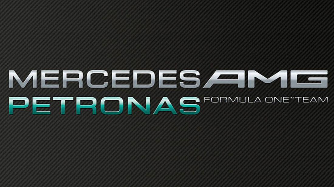 Mercedes AMG Petroas Logo 2012