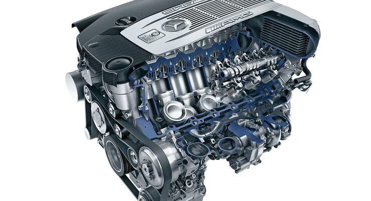 Mercedes-AMG S 65, Motor