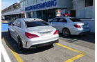 Mercedes AMG - Streckensicherung - F1 2015