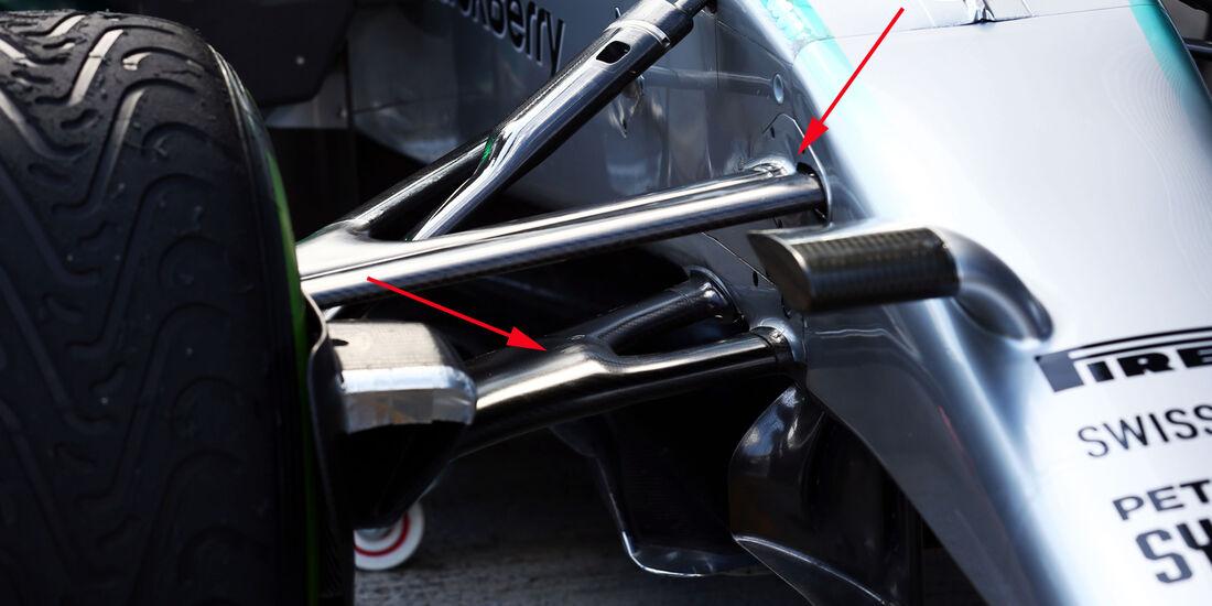 Mercedes AMG W05 - Technik-Analyse 2014