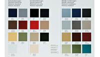 Mercedes-Ausstattungsvielfalt, Farben, Farbauswahl