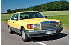 Mercedes-Ausstattungsvielfalt, Mercedes 560 SEL, Frontansicht
