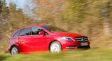 Mercedes B 200 CDI, Seitenansicht
