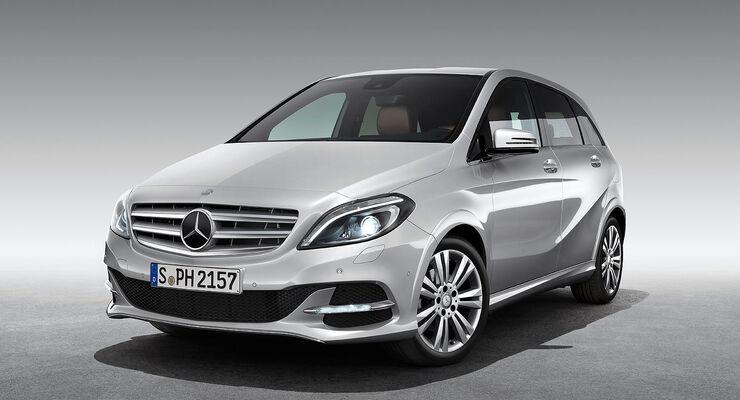 Mercedes B 200 NGD Erdgas