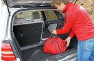 Mercedes B 200 NGD, Kofferraum