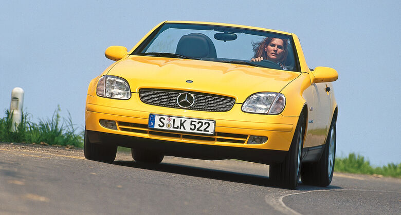 Mercedes-Benz 230 SLK, Frontansicht