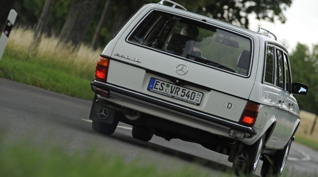 Mercedes-Benz 240 TD, Heck