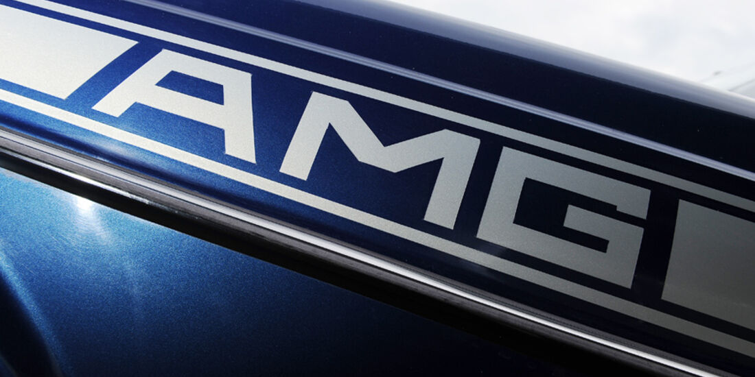 Mercedes- Benz 280 E AMG, Detail, AMG Logo