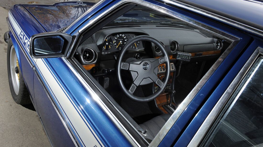 Mercedes- Benz 280 E AMG, Detail, Cockpit