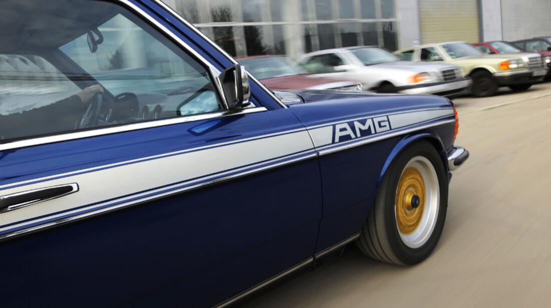 Mercedes- Benz 280 E AMG, Detail, Seitenansicht
