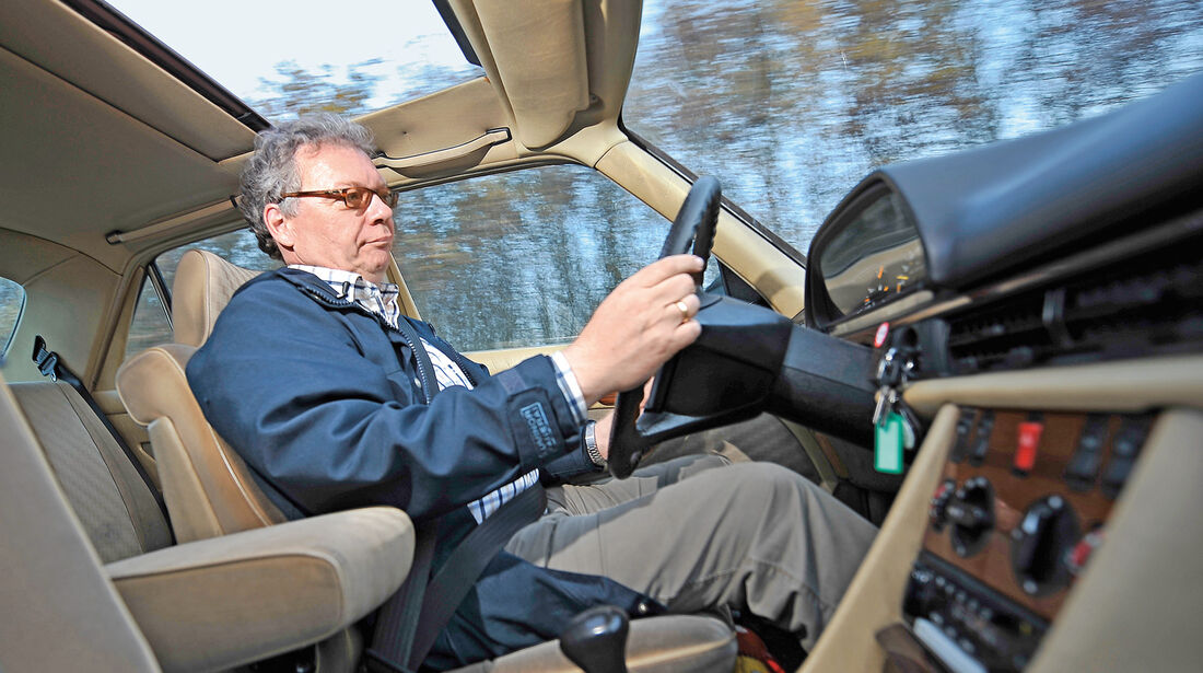 Mercedes-Benz 280 SE, Cockpit, Alf Cremers