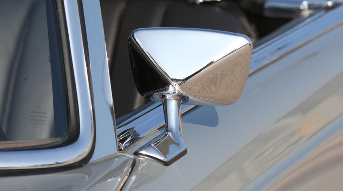 Mercedes-Benz 280 SL (W113), Außenspiegel