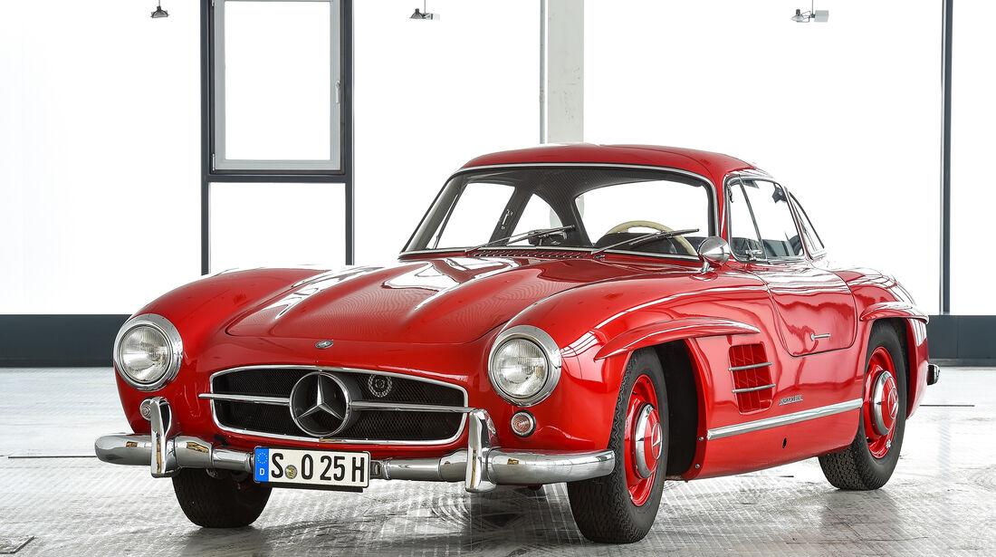 Mercedes-Benz 300 SL Coupe 1954, Designer Friedrich Geiger, Karl Wilfert, Leihgeber Daimler AG, Archive