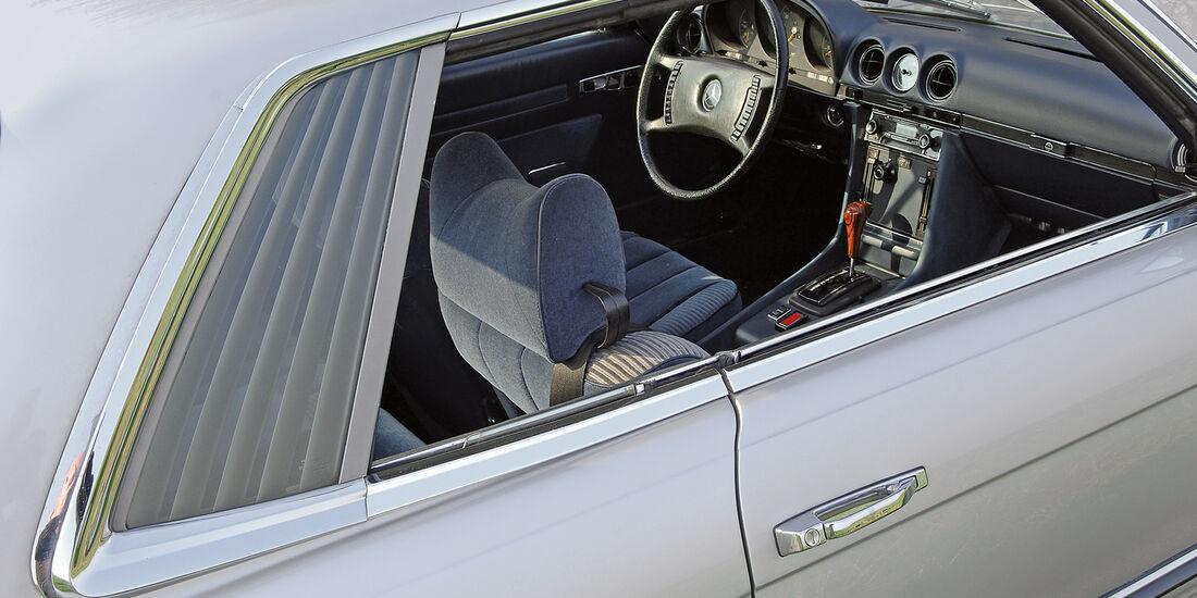Mercedes-Benz 350 SLC , Seitenlinie, Lamellen