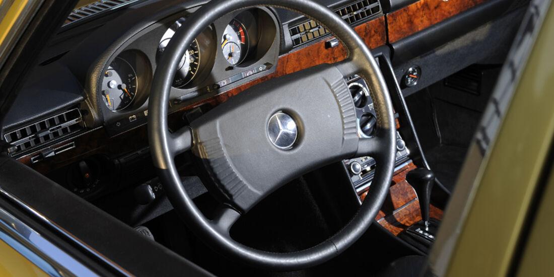 Mercedes-Benz 450 SEL 6.9, W 116, Baujahr 1977 Cockpit