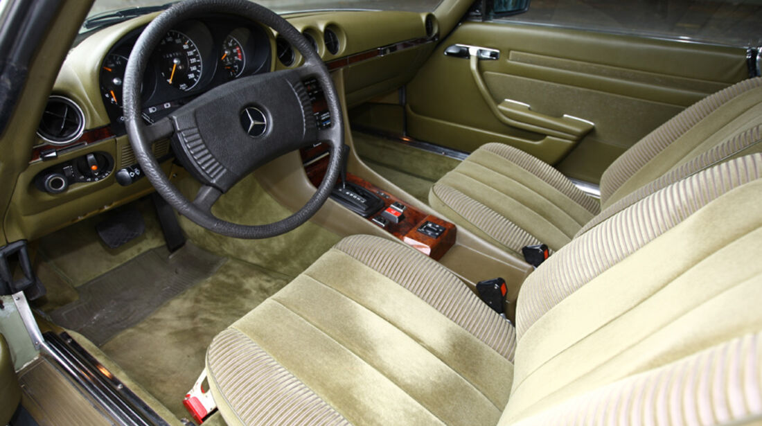 Mercedes-Benz 450 SLC 5.0, Typ C107, Baujahr 1979