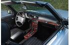 Mercedes Benz 500 SL R107, 1989, Cockpit, Detail