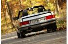 Mercedes Benz 500 SL R107, 1989, Heck