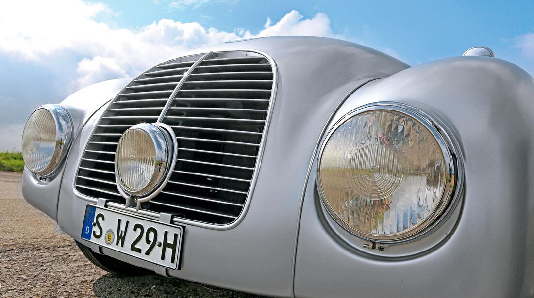 Mercedes-Benz 540 K Stromlinienwagen, Kühlergrill