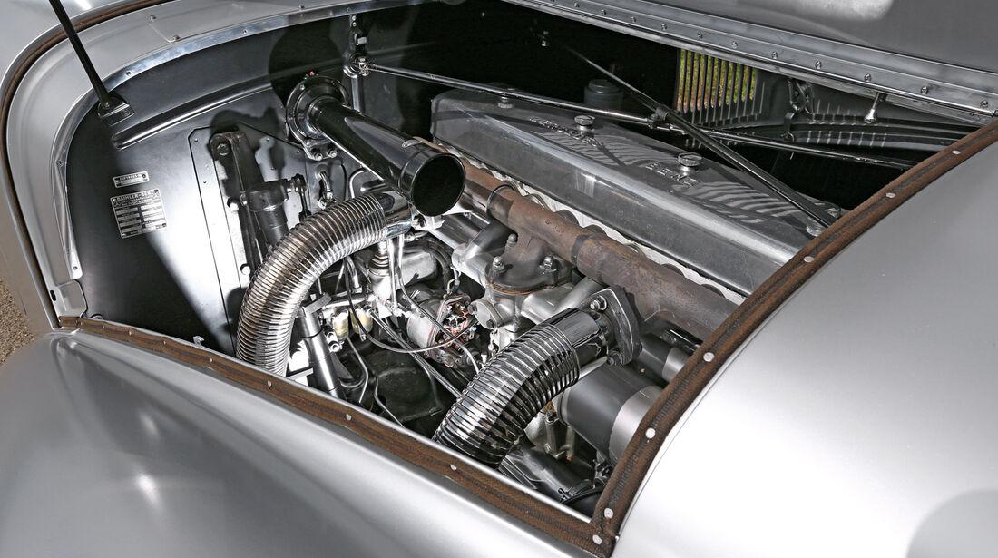 Mercedes-Benz 540 K Stromlinienwagen, Motor
