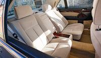 Mercedes-Benz 600 SEL, Sitze, Innenraum
