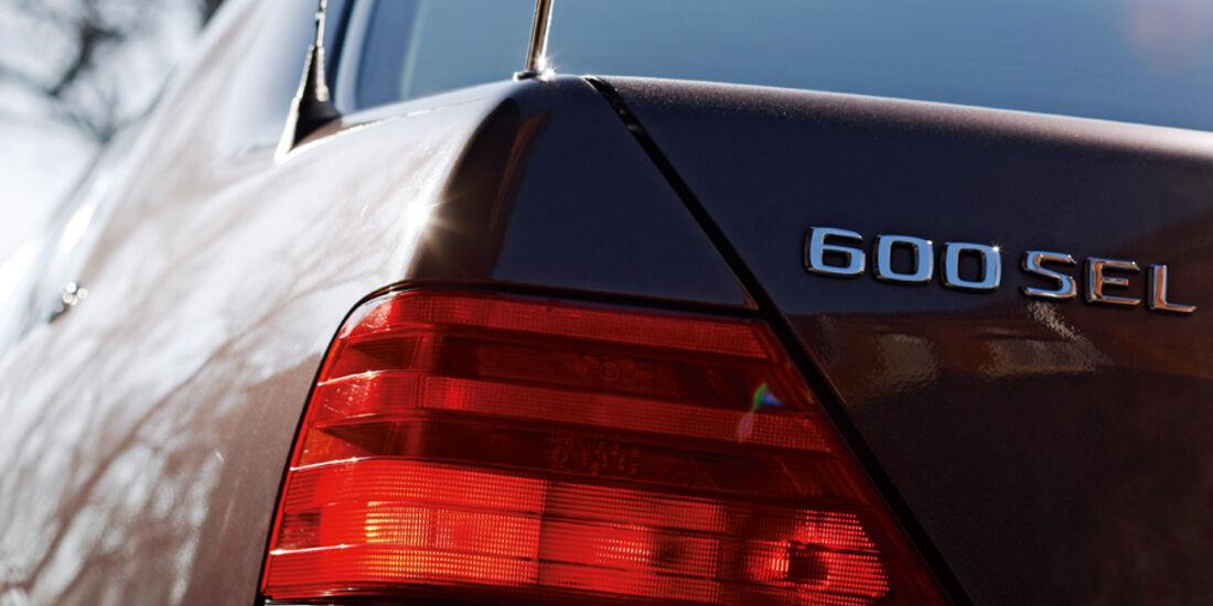 Mercedes-Benz 600 SEL, Tyenbezeichnung