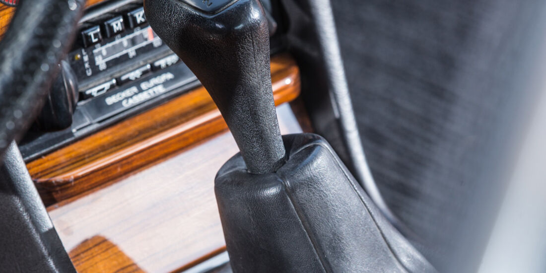 Mercedes-Benz C123, Schalthebel