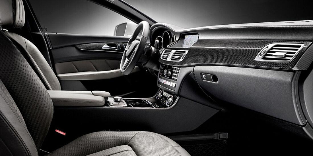 Mercedes Benz CLS, Cockpit