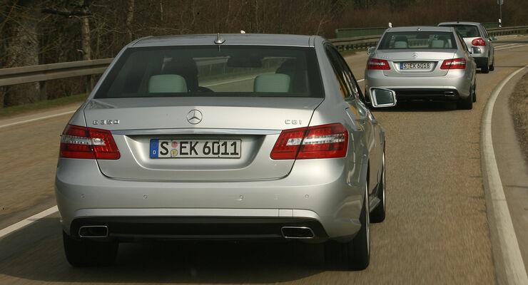 Mercedes Benz E-Klasse, Leserfahraktion
