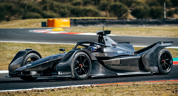 Mercedes-Benz EQ Silver Arrow 01 - Formel E - Test 2019