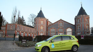 Mercedes-Benz F-Cell World Drive, Mercedes B-Klasse F-Cell