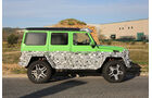Mercedes Benz G63 AMG 4x4 Green Monster
