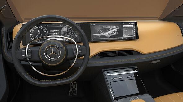 Mercedes-Benz Icon E Concept Cockpit