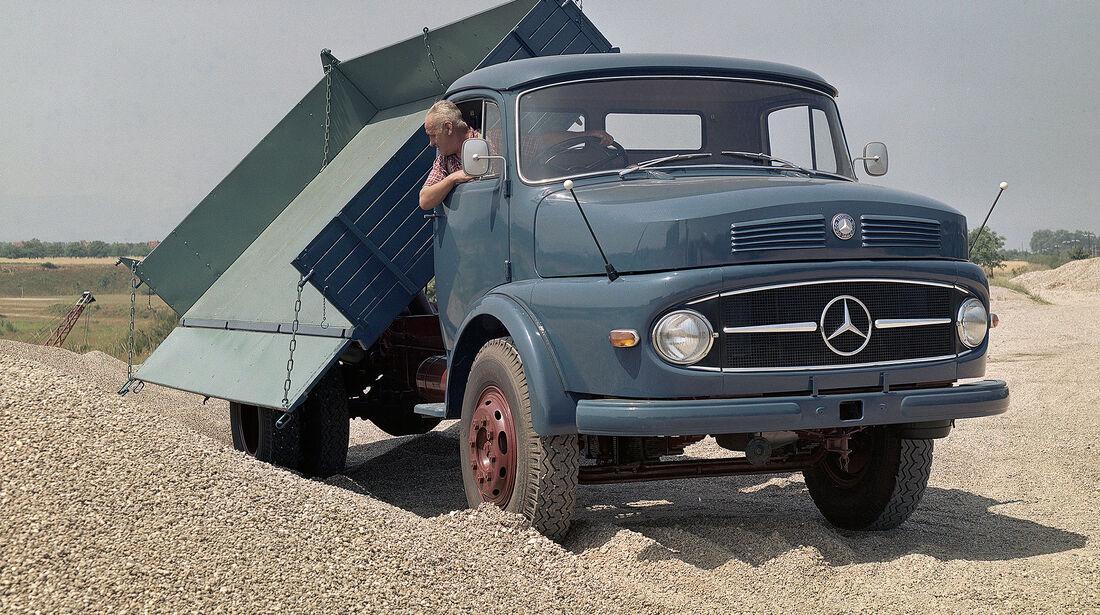 Mercedes-Benz LK 337 Dreiseitenkipper Kurzhauber
