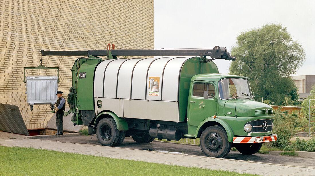 Mercedes-Benz LKO 1113 Kurzhauber Kuka Abfallsammelfahrzeug
