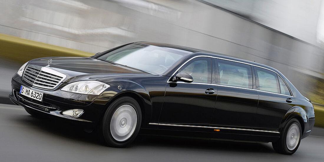 Mercedes-Benz S 600 Pullmann-Guard-Version