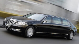 Mercedes-Benz S 600 Pullmann-Guard-Version