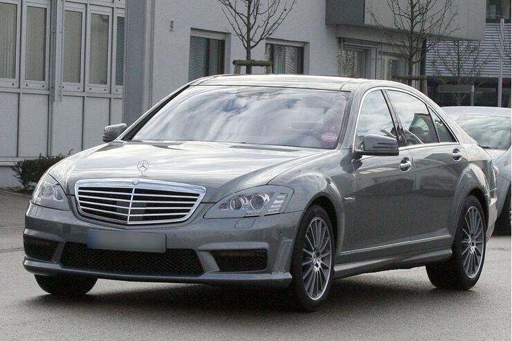 Mercedes Benz S-Klasse AMG, Erlkönig