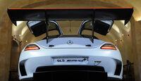 Mercedes-Benz SLS AMG GT3 Flügeltürer Heck