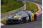 Mercedes-Benz SLS AMG GT3 - Haribo Racing Team - Startnummer: #8 - Bewerber/Fahrer: Uwe Alzen, Marco Holzer, Norbert Siedler, Maximilian Götz - Klasse: SP9 GT3
